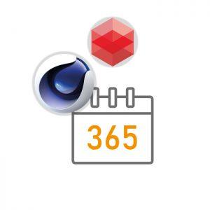 Maxon Cinema 4D + Redshift Subscription (1 Year)